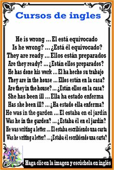 Spanish Phrases, Spanish Words, English Vocabulary Words, English Phrases, Learn English Words, Spanish Lessons, How To Speak Spanish, Spanish Grammar, Spanish Language Learning