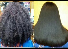 Japanese Hair straightening/Thermal Reconditioning multiple hair textures before… - Modern Permed Hairstyles, Straight Hairstyles, Relaxed Hairstyles, Bad Hair, Hair Day, Japanese Hair Straightening, Healthy Relaxed Hair, Hair Brush Straightener