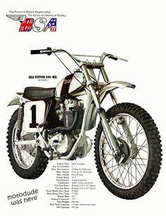 bike &girls- easy life Mx Bikes, Motocross Bikes, Vintage Motocross, Cool Bikes, Dirt Bikes, Classic Motors, Classic Bikes, Bsa Motorcycle, Honda Ruckus