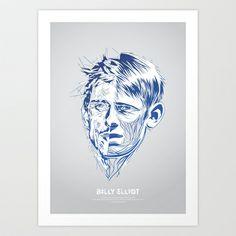 Billy Elliot Art Print by Tomasz Zawistowski - $18.72