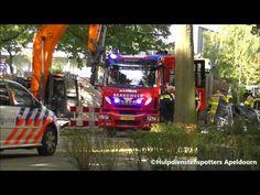 05-10-2016 Woningbrand Henri Dunantlaan Apeldoorn