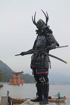 Miyajima Samurai Hiroshima Japan Itsukushi