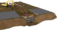 Valetas com cobertura vegetal promovem a filtragem da água da chuva e retardam seu tempo de escoamento. Veja como funciona o sistema