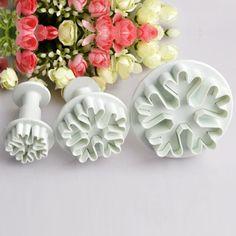 3 pièces emporte-pièce flocon de neige de minithings sur DaWanda.com