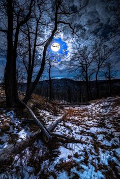 ~~Wolf Moon | the full moon in January is called the Wolf Moon, Storm King State Park, Cornwall-on-Hudson, New York | by Sergio Smiriglio~~