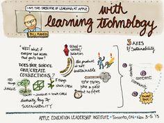 Bill Rankin at Apple's Education Leadership Institute Nov. 3 - 5, 2013