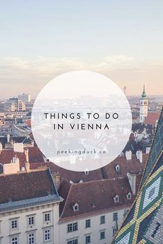 A few fun things to do in Vienna, Austria – an incredible library, where to eat, grand cafes and the best city view.