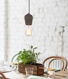 The Stone Cordset pendant is beauty in simplicity. With its natural concrete finish it provides texture in any room of the house and is neutral enough to fit in with any design style. Rustic Industrial, Industrial Design, Tv Decor, Home Decor, Concrete Finishes, Kitchen Benches, Lighting Store, Light Decorations, Cement