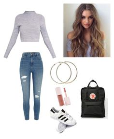 """""""Untitled #91"""" by haileymagana on Polyvore featuring River Island, adidas and Puma"""