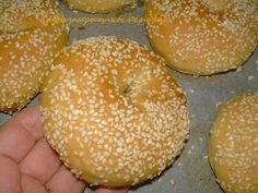 Greek Sweets, Cheese Ball, Greek Recipes, Different Recipes, Bagel, Biscotti, Food To Make, Cookies, Breakfast