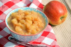 Appelcompote met kaneel en rozijnen - Keuken♥Liefde