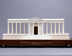 The Portico or Exchange at Palmyra ; Model