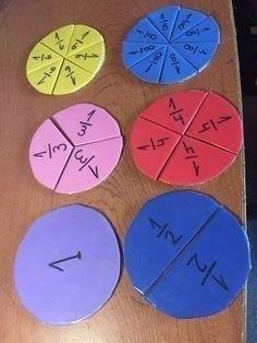 25 Games to teach math - Aluno On - Einrichtungsstil Montessori Math, Homeschool Math, Teaching Aids, Teaching Math, Math Crafts, Paper Weaving, Math Fractions, Kids Education, Texas Education
