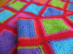Beautiful.  Inspiring me to get my granny square blanket out again and keep going :-)