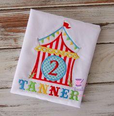 Circus Birthday Shirt Circus Shirt Circus by ThreadsofParadise