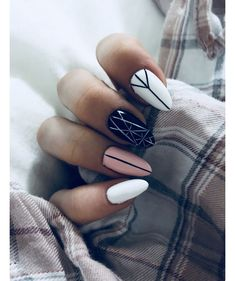 88 natural elegant summer nail designs to prepare for parties and holidays 2019 page 51 Best Acrylic Nails, Acrylic Nail Designs, Matte Nails, Stylish Nails, Trendy Nails, Hair And Nails, My Nails, Fire Nails, Dream Nails