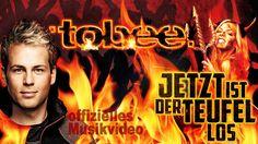 """Tobee - """"Jetzt ist der Teufel los"""" - das offizielle Musikvideo 2015. Der Song ist auch auf den Apres Ski Hits 2015 enthalten und perfekt für den Karneval / die Mallorca Saison 2015. Mehr davon: http://mallorcahitstv.de/2015/01/tobee-jetzt-ist-der-teufel-los-official/"""