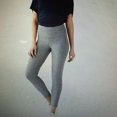 ISO heathered slate high times Anyone be willing to sell these for a great price or trade for the charcoal heathered cotton gray roll down Crops in like new condition size 4? I could do a 2 or a 4! First 2 pictures are what I'm looking for second two is what I have that I would trade for them. lululemon athletica Pants Leggings
