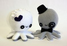 Hey, I found this really awesome Etsy listing at https://www.etsy.com/listing/86853156/custom-octopus-wedding-cake-toppers