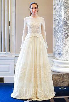 Best A-Line Wedding Dress: Luisa Beccaria Wedding Dresses Spring 2016 Bridal Runway Shows Brides.com