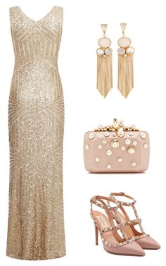 """tj"" by mironcheva1997 on Polyvore featuring мода, Dorothy Perkins, Valentino и Elie Saab"
