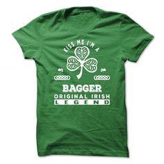 Kiss Me I'm A Bagger v^1^ T Shirts, Hoodies. Get it here ==► https://www.sunfrog.com/St-Patricks/Kiss-Me-Im-A-Bagger-v1.html?41382 $22.99