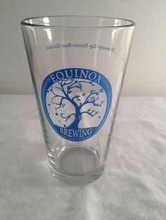 Equinox, Brewing, Ft. Collins, CO, pint beer glass