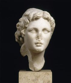 "v-ersacrum: "" Head of Alexander the Great, known as Alexandre Guimet, c.300 b.c. """