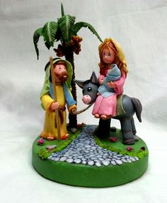 Easter week Nativity por Creandoparati en Etsy, $49,99