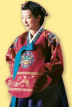 traje tipico  Corea
