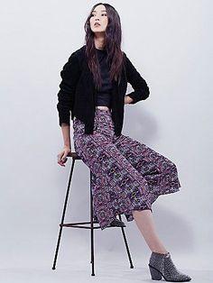 Bondi Printed Culottes
