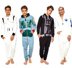 Going to bed will turn into the best part of the day once you begin sleeping in the Star Wars adult onesies. Star Wars fans will be able dress up like Boba...