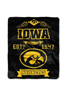 The Northwest Company NCAA Iowa Hawkeyes Hand Towel