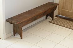 Life with 5 Monsters!: Century old barn board bench