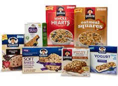 New $1/2 Any Quaker Products Coupon!