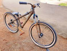 Dirt Jumper, Valencia, Bicycle, Art, Art Background, Bike, Bicycle Kick, Bicycles, Kunst