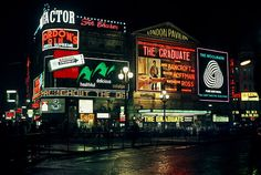 The Graduate. Opening at the London Pavilion theater in Piccadilly Circus -- circa 1968