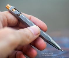 Blank Forces Bolt Action EDC Pen