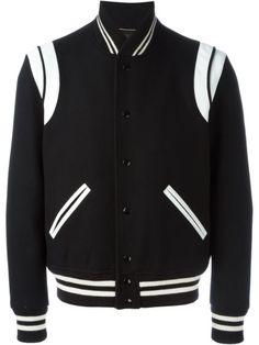 SAINT LAURENT Classic Teddy Jacket. #saintlaurent #cloth #jacket