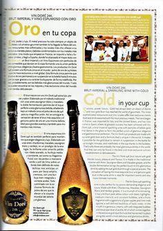 Ronda Iberia recomienda Vin Doré 24K Restaurants