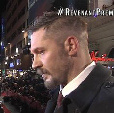 "Tom Hardy at the premiere of ""The Revenant"" - London, Jan 14th 2016"