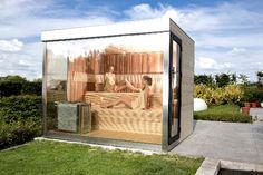 luxury outdoor sauna buiten sauna