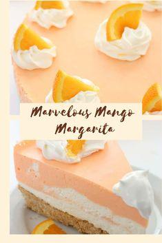 ORANGE CREAMSICLE CHEESECAKE #cake #cheesecake #dessert #fruit #healthyrecipes No Bake Desserts, Dessert Recipes, Baking Desserts, Mango Margarita, Cheesecake Recipes, Cheesecake Cake, Wafer Cookies, Breakfast Pastries, Orange Creamsicle