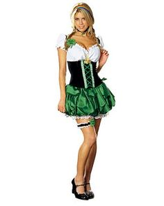 St. Patricks Day Good Luck Charm Adult Costume