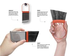 One Brush to Rule Them All | Yanko Design