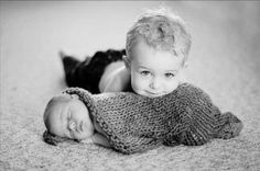 newborn sibling photography - Google