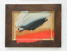 "Howard Hodgkin   Snow Cloud  2009 - 2010  17 x 22 ¼"", 43.2 x 56.5cm  Painting  PA  Oil on wood"