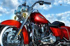 Road King Harley Davidson The King Of All Bikes Road King Art By Artist Mark Watts – Mark Watts Art