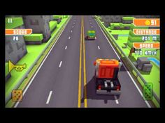 Let's Play Blocky Highway - Android GamePlay Trailer HD (ANDROID/IPAD/IP...