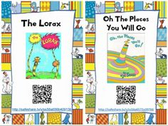 Dr Seuss Free QR Code Read Aloud by Elementary Energy Station Beginning Of Kindergarten, Beginning Of School, Kindergarten Readiness, Reading Centers, Listening Centers, Listening Station, Teaching Reading, Reading Sites, Free Reading